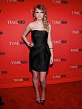 At the Time 100 Gala, Taylor opted for a little black dress, fit for any occasion.