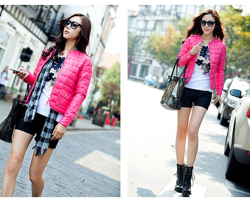 Discount newest design O-neck long-sleeve outerwear down coat frowm women down parkas on sightface.com