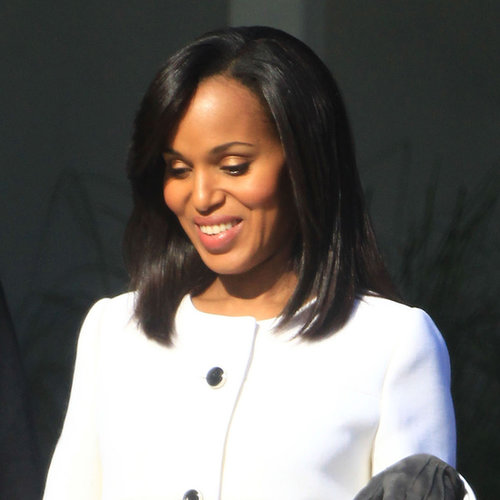 Pregnant Kerry Washington Filming Scandal