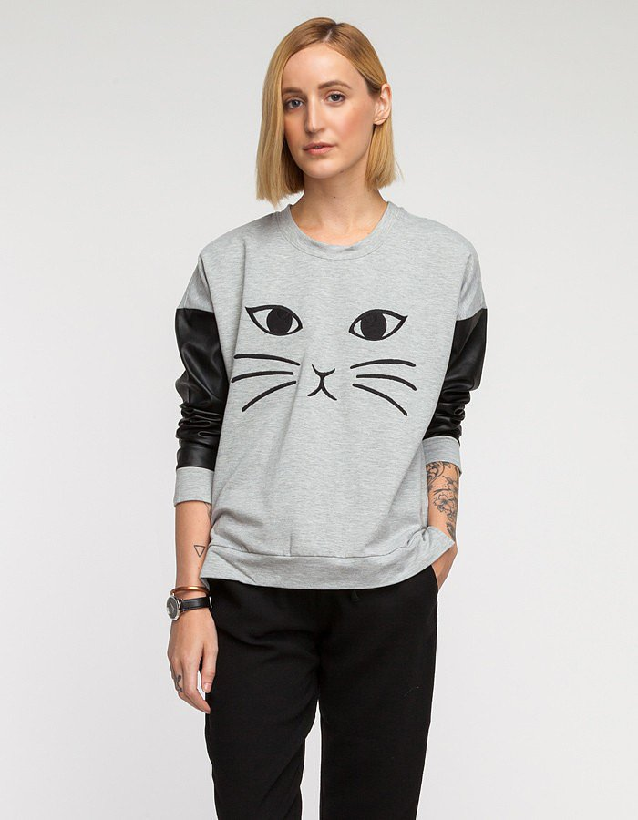 Need Supply Co. Cat Sweater ($62, originally $88)