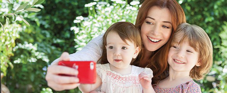 Alyson Hannigan Is All About Sharing the Love