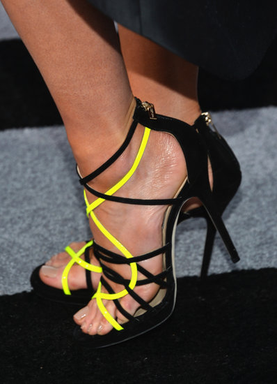 At a May premiere of Star Trek Into Darkness, Kate Beckinsale went neon and black.