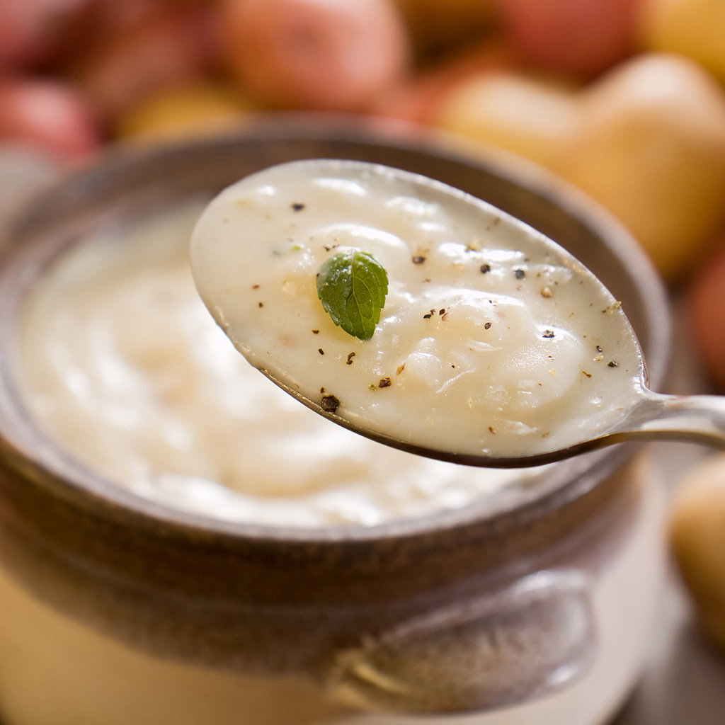 Thick and hearty, this potato leek soup includes calcium-rich broccoli ...