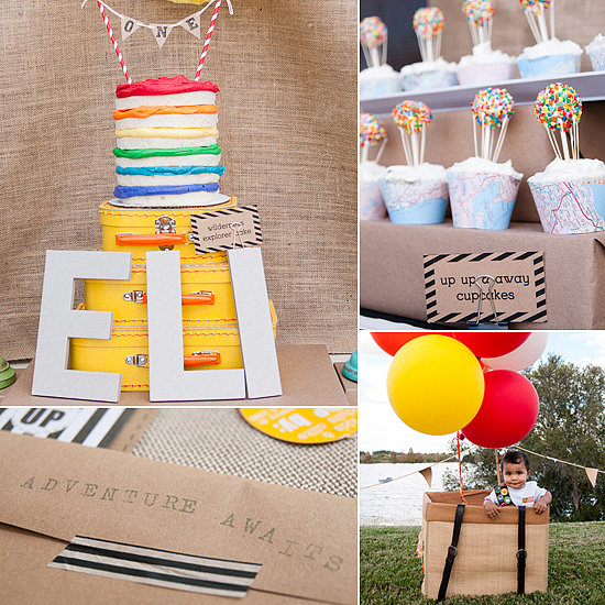 A Colorful Up-Inspired Party With Cool DIY Details