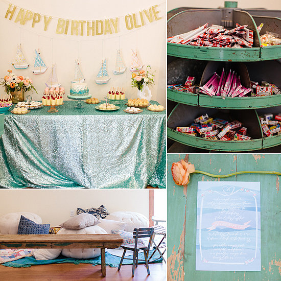 Birthday Parties: A Dreamy Under-the-Sea First Birthday Party