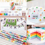 Birthday Parties: A Sweet Rainbow-Heart Birthday Party