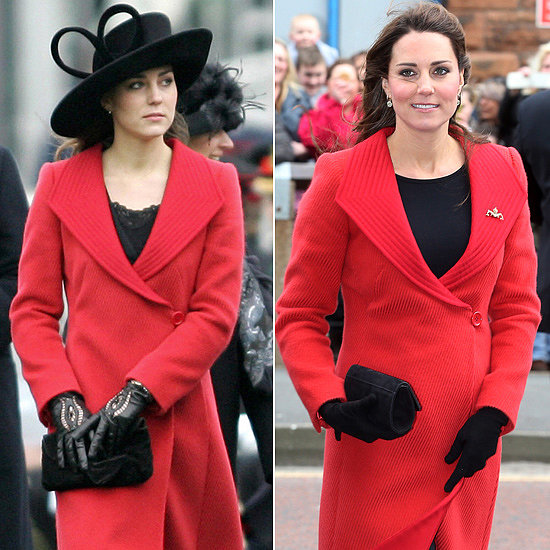 Kate Middleton in Armani