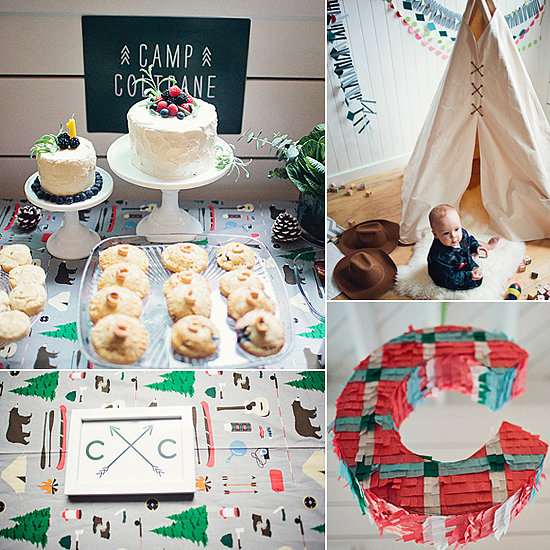 Birthday Parties: A Modern Camp-Inspired First Birthday Party