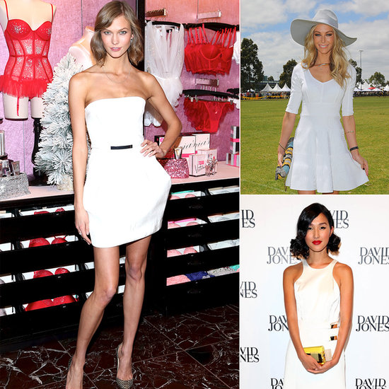 10 Celebrity-Endorsed Ways To Wear A Little White Dress