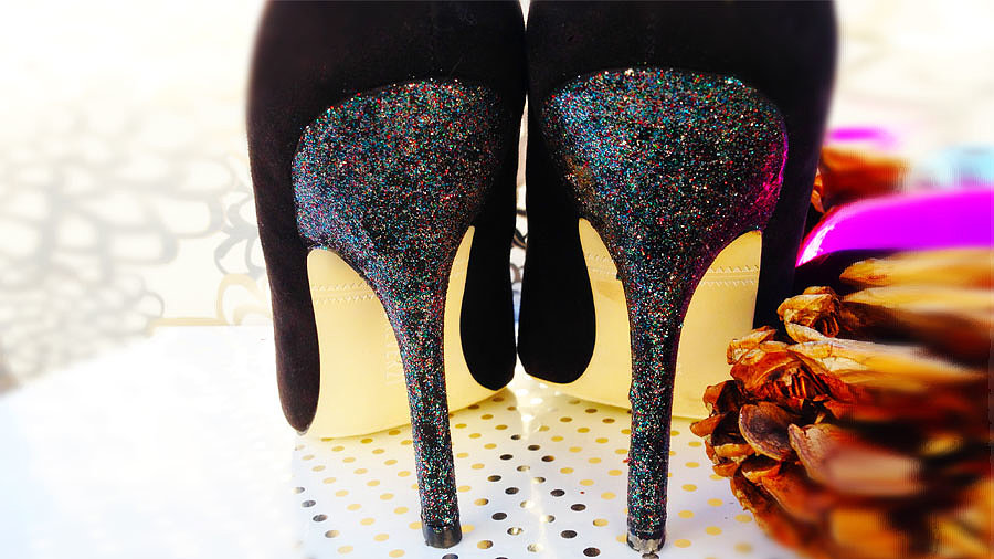 Disguise Those Scuffed Heels!