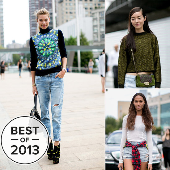 The 20 Model Street Style Moments That Wowed Us in 2013