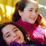 Soleil Moon Frye's girls, Poet and Jagger, enjoyed some good sister time together. Source: Instagram user moonfrye