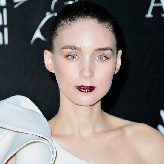 Rooney Mara and Lorde With Dark Lipstick
