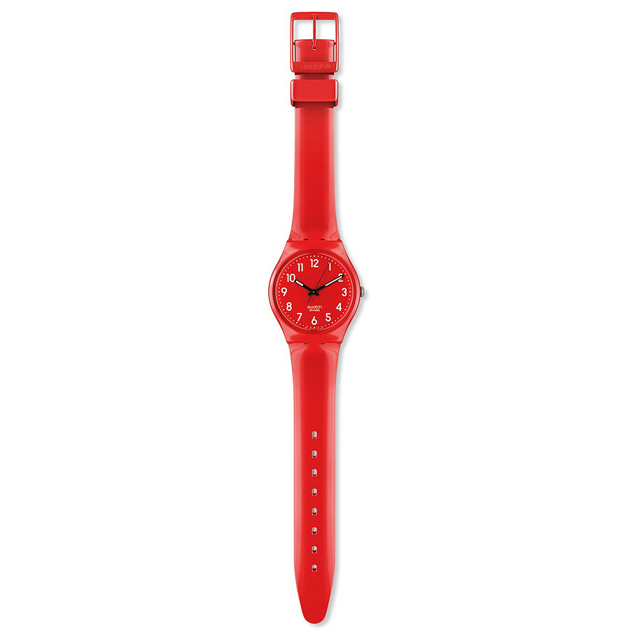 Brighten up her Christmas stocking with this Swatch Cherry Berry Watch ($50).