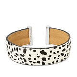 We love the unique vibe of this Fossil Dalmatian Haircalf Cuff ($38).