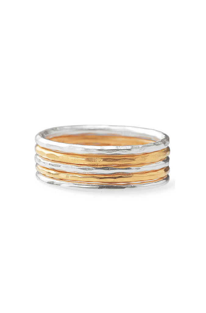 These Stella & Dot Stackable Rings ($39) are perfect for the minimalist.