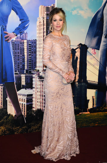 Christina Applegate at the London premiere of Anchorman 2: The Legend Continues.