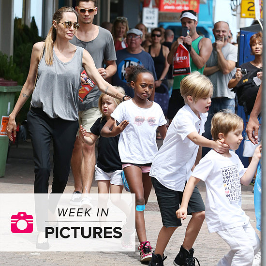 The Week in Pictures: Angelina in Bondi, Obama's Selfie and More!
