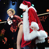Miley Cyrus at the Z100 iHeartRadio Jingle Ball in NYC