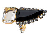 Bounkit Black Onyx Cocktail Ring ($375)