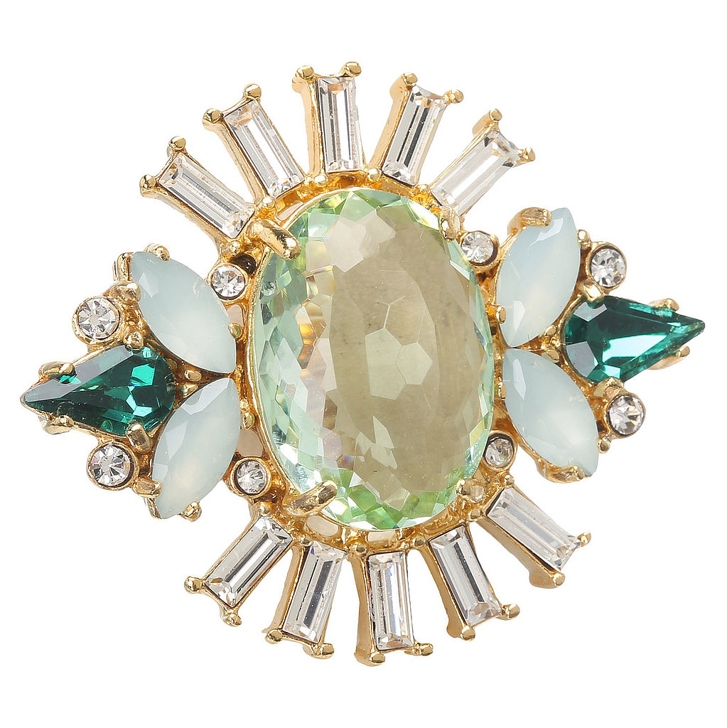 Juicy Couture Deco Cocktail Ring ($68)