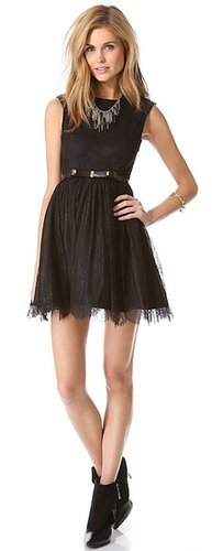 Alice + olivia Shelly Lace Dress