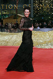 Facebook loved how Evangeline Lilly reimagined the black dress just as much as we did!