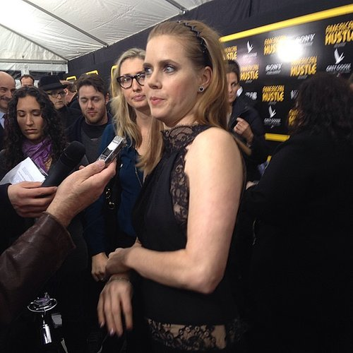 Amy Adams was so sweet at the premiere of American Hustle.