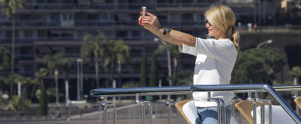 Stars Couldn't Stop Taking Selfies This Year