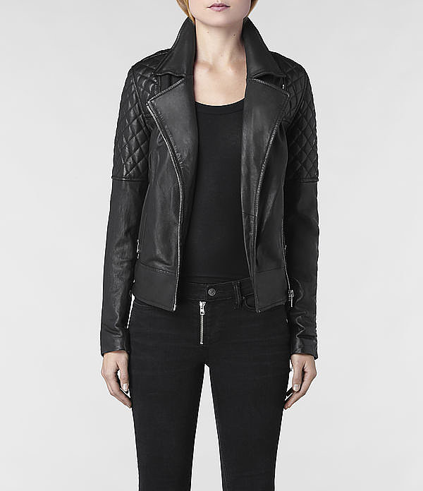 To Receive: AllSaints Walker Leather Biker Jacket