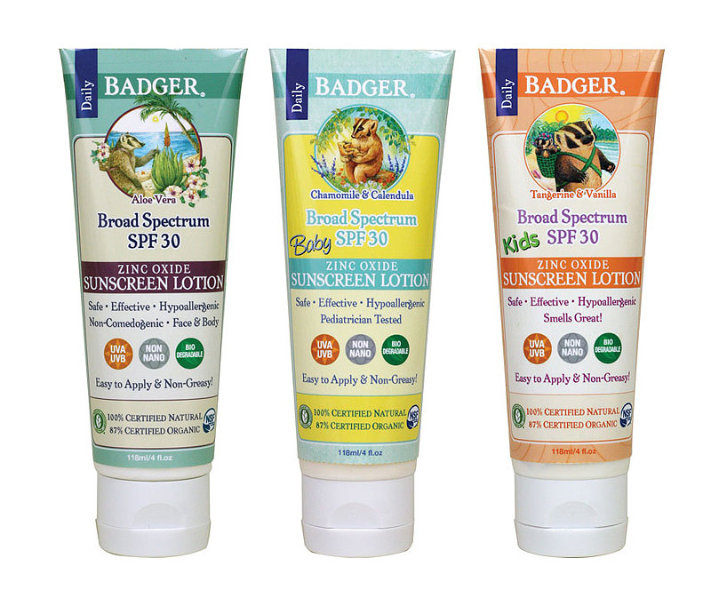 Badger Baby and Kids Sunscreen Lotion