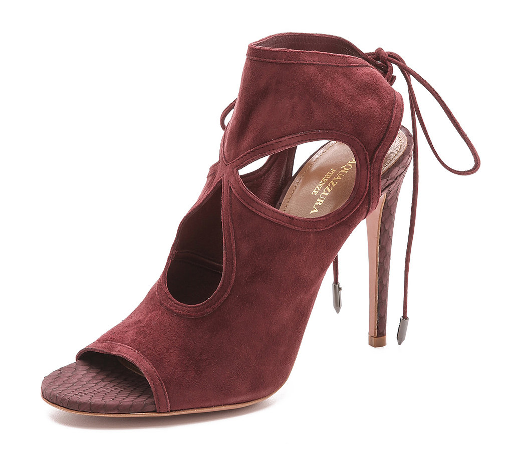 Aquazzura Sexy Thing Cutout Sandals ($347, originally $495)