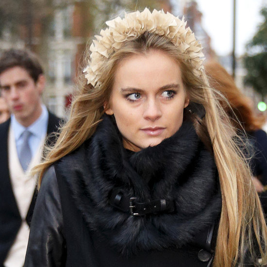 Cressida Bonas Wearing a Crown