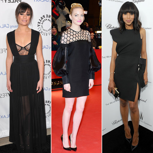 Best Black Dresses of 2013