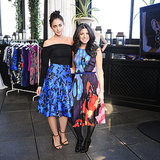 Erika Bearman and Shira Suveyke at the Oscar de la Renta for The Outnet luncheon.