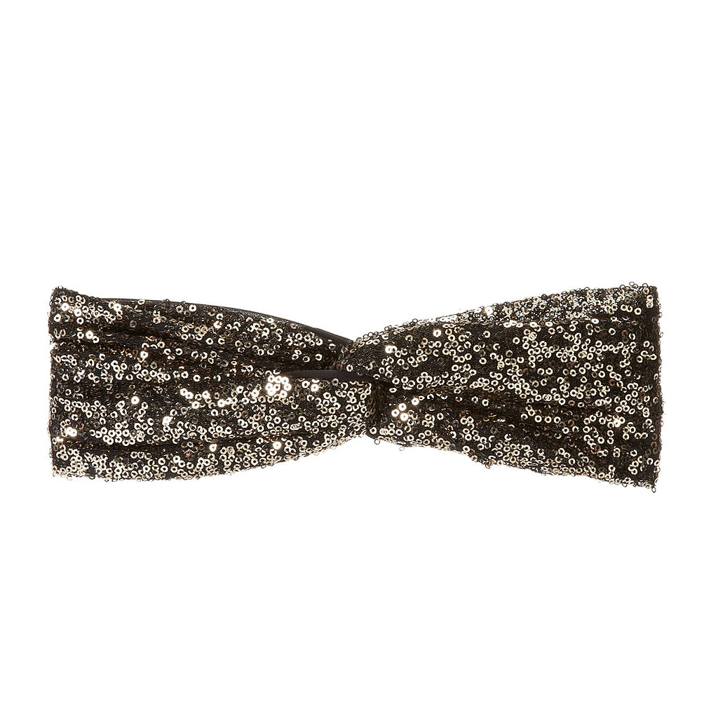 Why not sport a sparkling headband like this one from Eugenia Kim ($55) to make your 'do that much more festive?