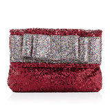 Your favorite wingwoman busy? Just take along Deux Lux's sequined clutch ($35, originally $50)!