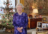 Queen Elizabeth II recorded her Christmas Day broadcast in 2003.