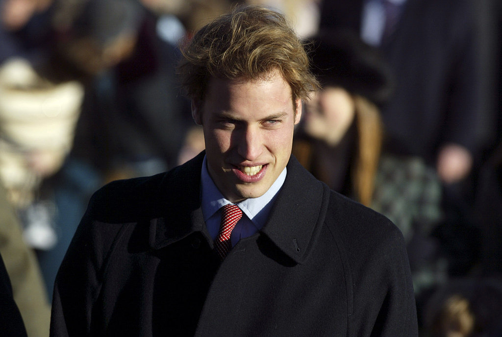 In 2004, 22-year-old Prince William made a dapper arrival for the Christmas Day service.