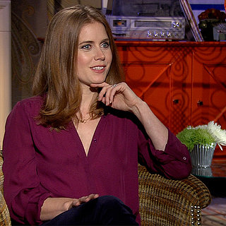 Amy Adams on Kissing Jennifer Lawrence in American Hustle