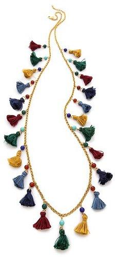 Ben-amun Long Mini Tassel Necklace