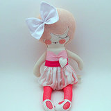 Piggy Hates Panda Primrose Cloth Doll