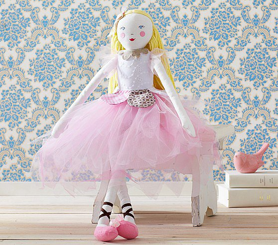 Pottery Barn Kids Designer Doll Flower Fairy Magnolia