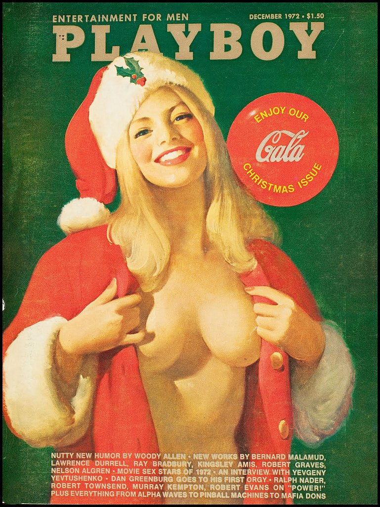Just a little holiday bunny and some Cola.