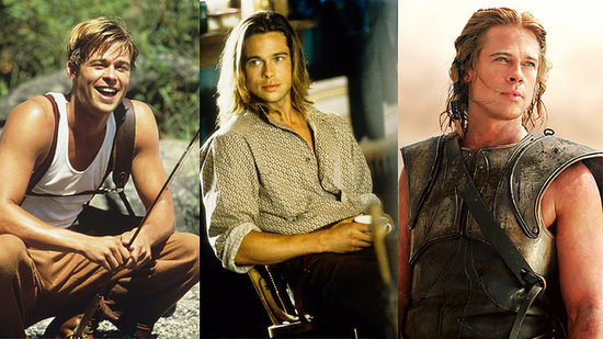 Happy 50th, Brad Pitt! See His Sexiest Moments in 50 Seconds