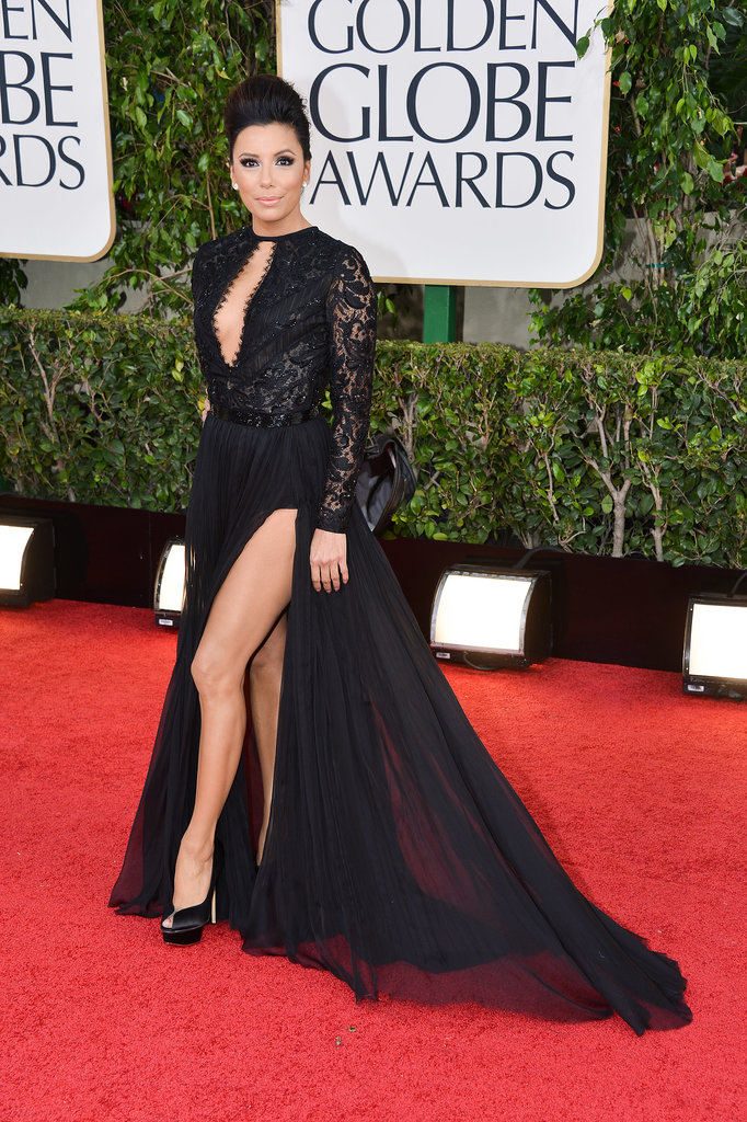 Eva Longoria at the Golden Globe Awards