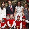The Obamas Celebrating Christmas 2013 | Pictures