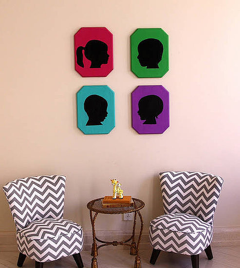 Kid Crafts: Tori Spelling's Custom Kid Silhouettes