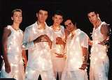 Meanwhile, *NSYNC Had a White Christmas Wrapped in Lights