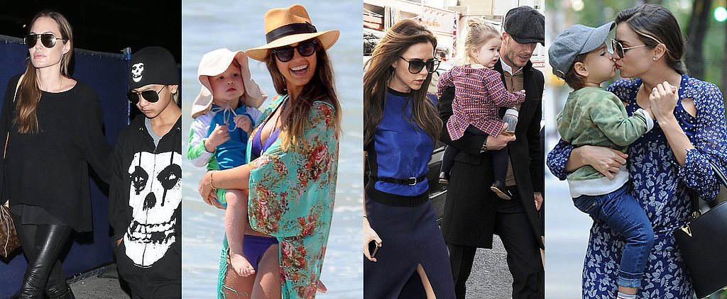 The 25 Most Stylish Celeb Mom Looks of 2013